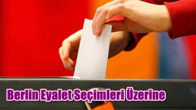 Berlin Eyalet Seçimleri Üzerine