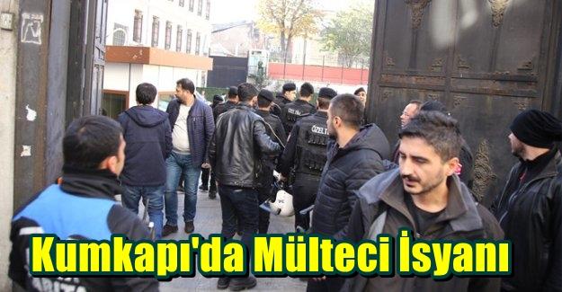 Kumkapı'da Mülteci İsyanı