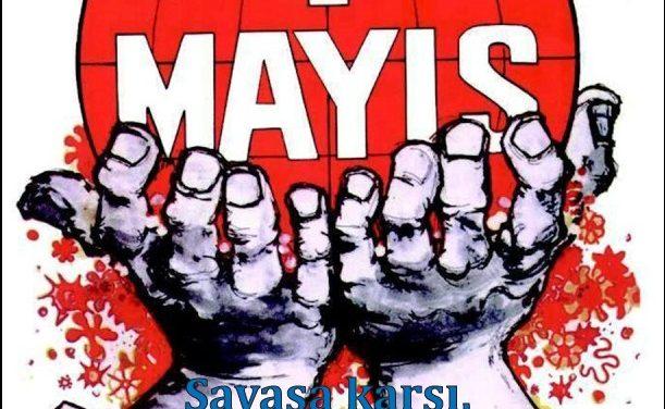 Savaşa karşı, ezilen halkların hakları için, sosyalizm için: küresel proleter devrim!