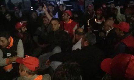 Maltepe Belediye İşçilerine Polis Saldırısı