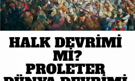 Halk Kavramı – Halkçılık ve   Marksizm