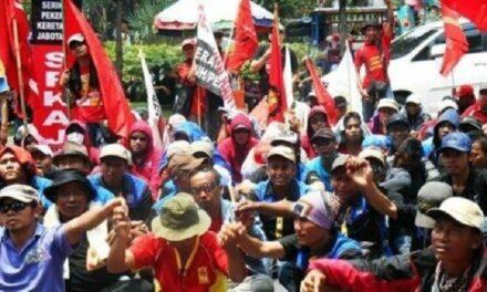 Endonezya'da İşçi Sınıfının Mücadelesini Selamlıyoruz