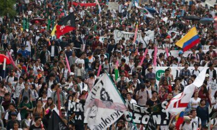 Kahrolsun Duque Baskısı ile Açlık ve Sefalet Projeleri!Genel Grev!Kolombiya'da İşçi Ve Köylü Hükumeti Kurulsun