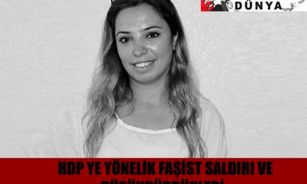 HDP'ye Yönelik Faşist Saldırı ve Düşündürdükleri